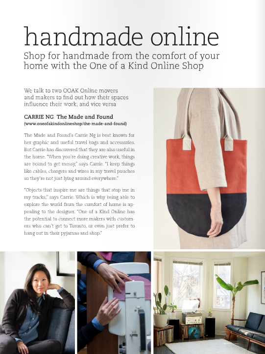 The Made and Found Featured in Covet Garden